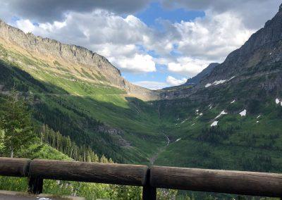 Logan Pass - Close to the top
