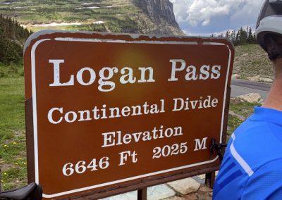 Logan Pass Elevation
